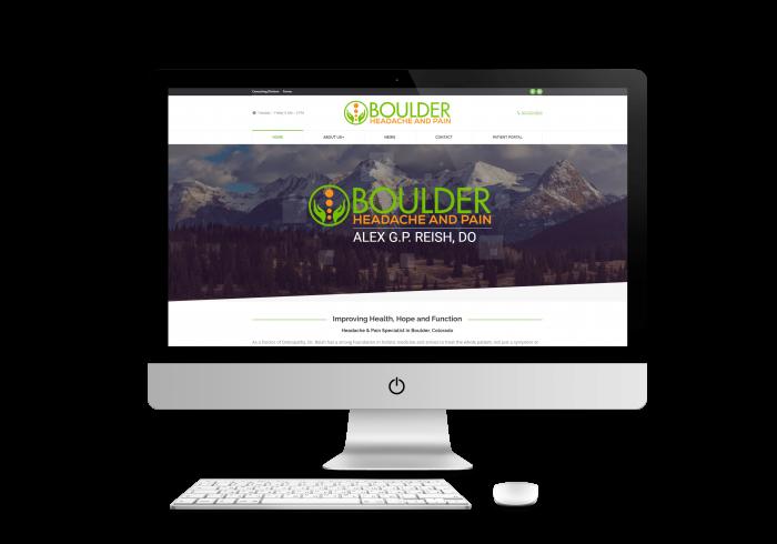 Boulder Headache and Pain Web Design Project
