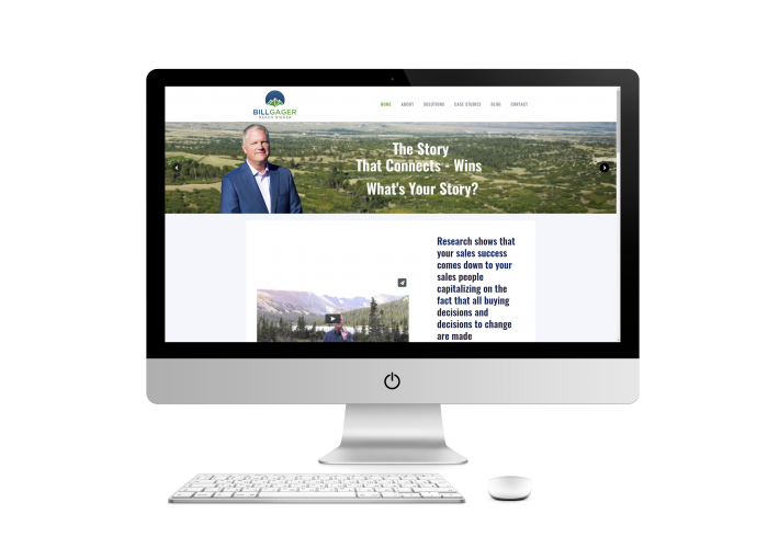Bill Gager Web Design Project